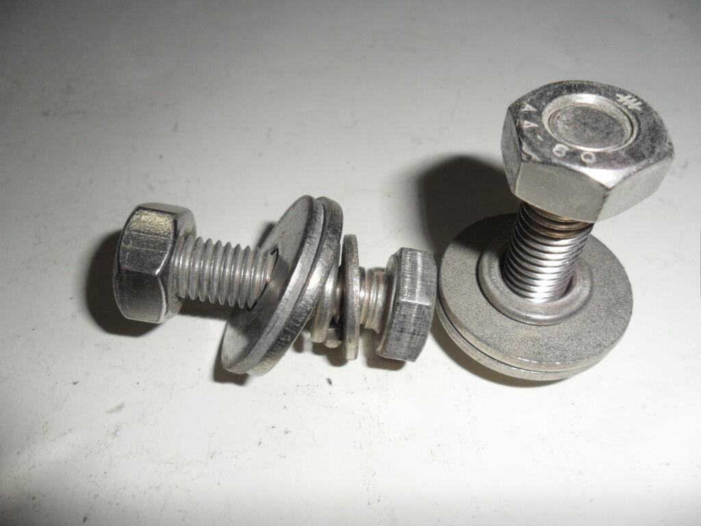 Edelstahlschrauben V4 a M10x35 mm