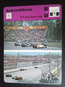 Sheet Editions Rencontre S.A Lausanne Motoring Gp Of United States