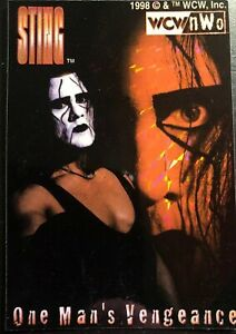 Sting-One-Man-s-Vengeance-WCW-Vending-Prism-Sticker-nWo-WWE