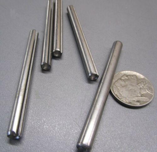 """420 Stainless Steel 7//32/"""" Dia x 2 1//2/"""" Length Slotted Roll Spring Pin 30 pcs"""
