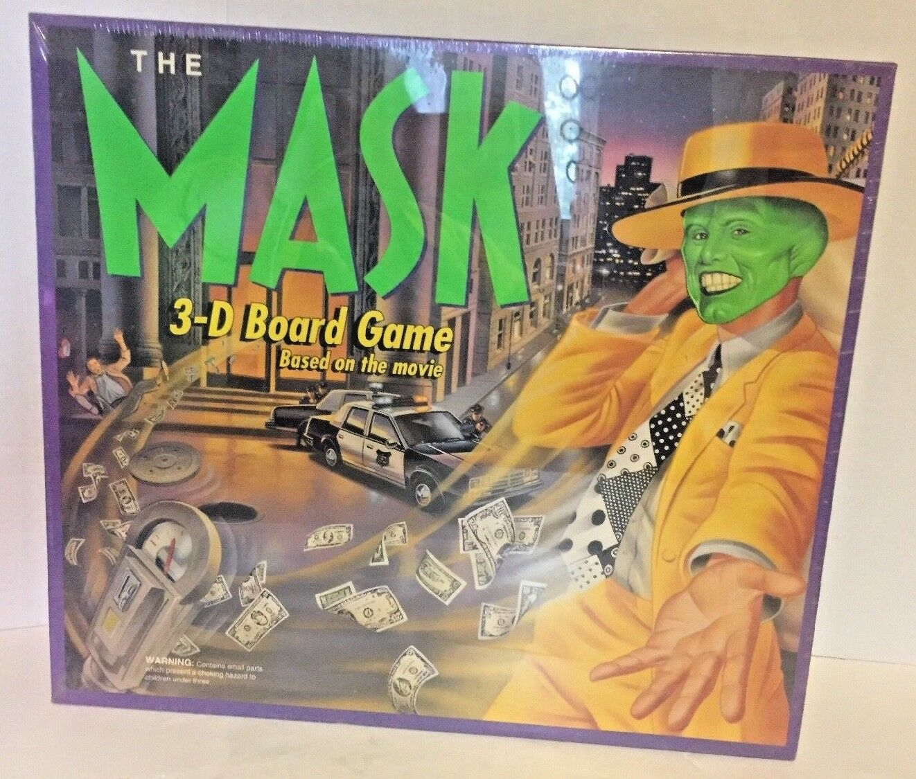 Rare Vintage The Mask 3-D Board Game  1994   NEW