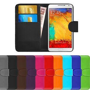 Housse-Etui-Coque-Portefeuille-Simili-Cuir-Pour-Samsung-Galaxy-Note-3-Film