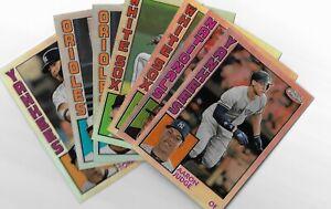 2019 Topps Chrome Baseball 1984 Topps Baseball Insert U Pick From List #1-25