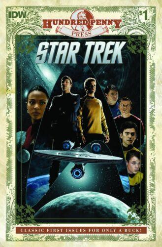 IDW STAR TREK #1 100 Hundred Penny Press variant NM Mike Johnson Stephen Molnar