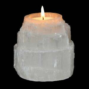 Selenite-Tower-Shape-Candle-Holder-Selenite-Tealight-Candle-Holder-Authentic