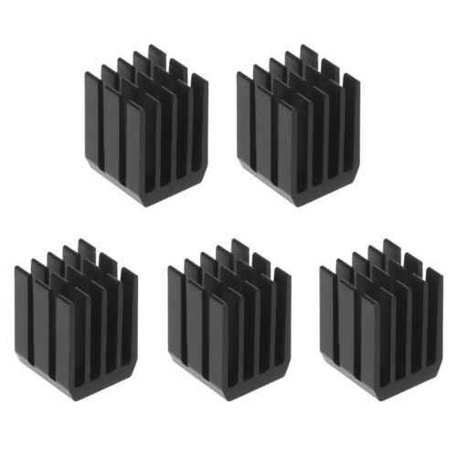 5Pcs//Set 9*9*12mm Aluminum Cooling Heat Sink Chip RAM Radiator Heatsink Cooler