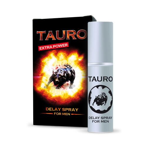 FLAME RETARDANT SPRAY MAN TAURO EXTRA STRONG AGAINST EJACULATION PREMATURE 5 ml