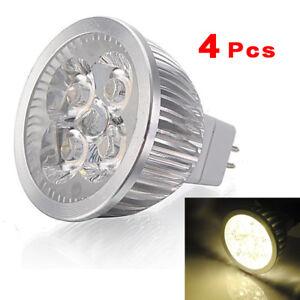 4X-MR16-4W-4-LED-Blanc-chaud-economie-d-039-energie-Spot-Lampe-ampoule-12v-lumi-J9I7