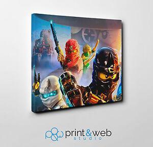 Lego Ninjago Canvas Print Home Decor Art Kids Bedroom