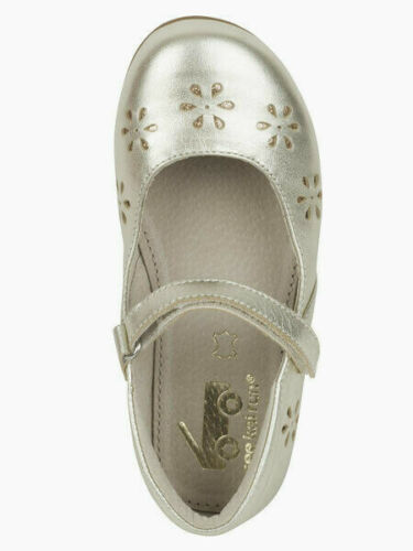See Kai Run NWB Ginger II Gold Mary Jane Shoes All Leather Girls /& Little Girls