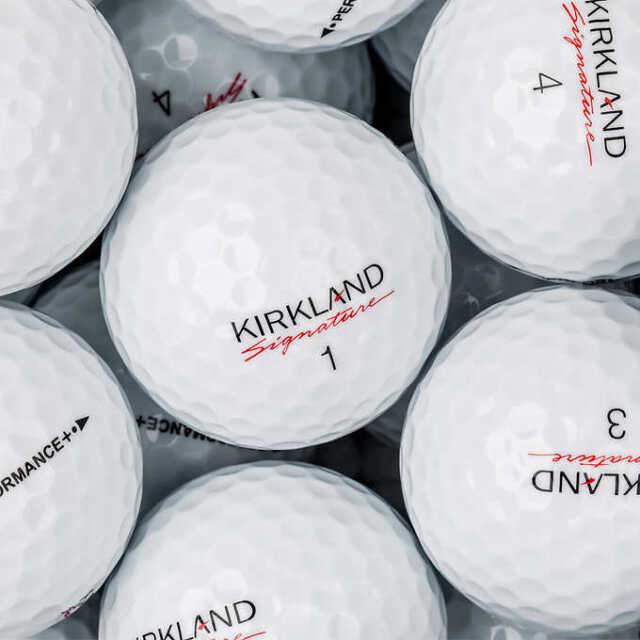 60 Kirkland Signature Performance Plus Near Mint Used Golf Balls AAAA