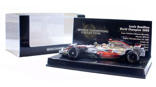 Minichamps McLaren MP4-23 2008 Lewis Hamilton World Champion Edition 1 43 Scale