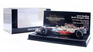 Minichamps Mclaren Mp4-23 2008 Lewis Hamilton Champion du Monde Edition 1/43 Échelle 4012138088740