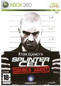 Tom Clancy's splinter cell double agent  XBOX 360