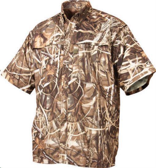 Drake Waterfowl  26032-L 260 Camo ShortSleeve Vented Shirt Max4 Large 15367  low price