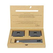 Cristel Mutine Removable Handle - Set of 1 Handle + 2 Side Handles - Grey