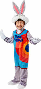 Bugs Bunny Child Costume Size Toddler (2-4) Space Jam A New Legacy NEW