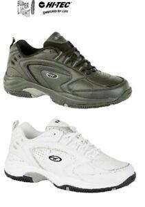 Hi-Tec-Trainers-Blast-Super-Lite-Black-White-Lace-Up-Sports-Size-6-16-uk