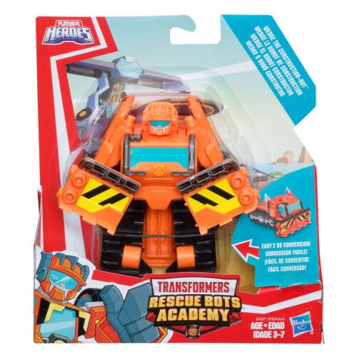 Playskool Helden Transformers Schutz Bots Keil The Construction-Bot