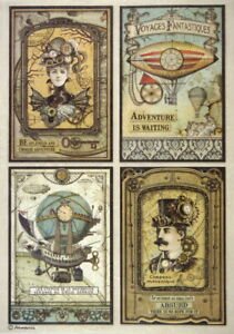 Rice-Paper-for-Decoupage-Scrapbook-Craft-Sheet-Voyages-Cards