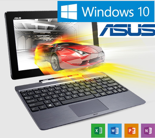 ORDENADOR ULTRABOOK ASUS TACTIL T100TA SSD64GB WINDOWS + OFFICE