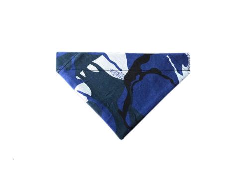 Exclusivo diseño de camuflaje azul Bandana-XS con el cuello Bandana-BDN35