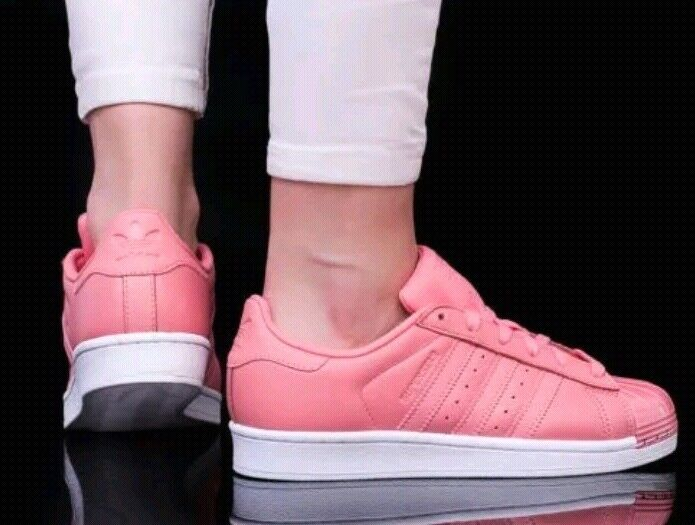 ADIDAS ORIGINAL SUPERSTAR METAL TOE WOMES baskets Taille Taille Taille US 8.5 rose BY9750 853cbf