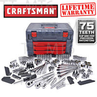 Craftsman 254 Pc Mechanics Tool Set With 75 Tooth Ratchet Ratcheting Wrench 263