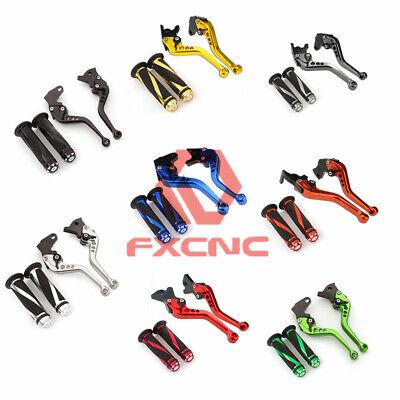 For HONDA Z125 MONKEY  2018-2019 FXCNC Brake/&Clutch Levers w//Handle Grips Adjust