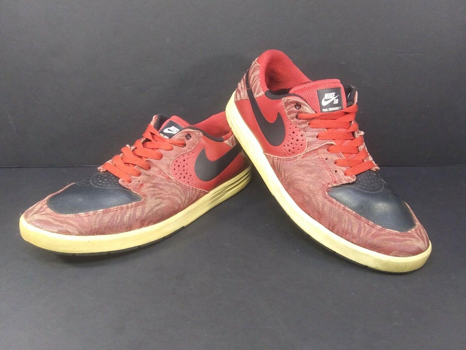 casado kiwi grano  Nike Retro SB Paul Rodriguez 7 Prem 599604-601 Zebra Print Sneaker Mens  Size 12 for sale online   eBay