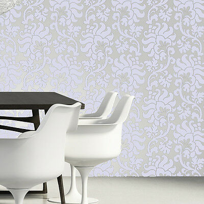 Flower Hibiscus Allover Stencil Pattern for Easy wall decor Reusable stencil