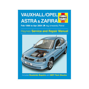 Vauxhall-Astra-Zafira-Haynes-Manual-1998-04-1-4-1-6-1-8-2-0-2-2-Petrol