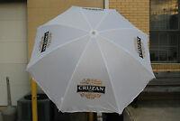 Cruzan Rum Umbrella 6'h 6'w (lw) Many Uses Beach Sun Rain Work & F/s