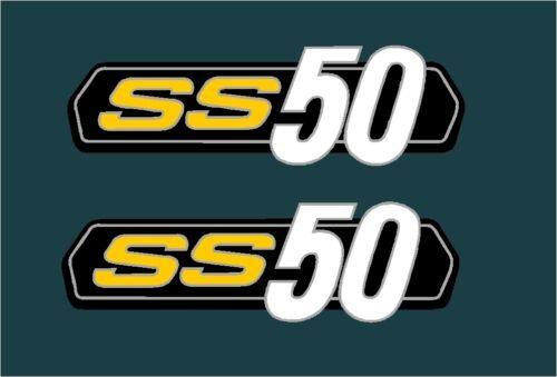 Ss 50 1973 Aufkleber Decal Aufkleber