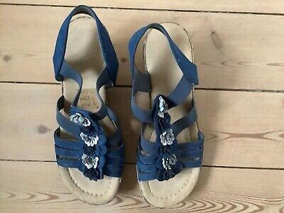Find Blå Sandaler 38 på DBA køb og salg af nyt og brugt