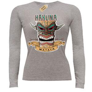 Hakuna-matata-T-Shirt-ladies-long-sleeve