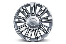 "22"" Rims 2016 Platinum Silver Chrome Wheels Cadillac Escalade EXT ESV Sierra 24"