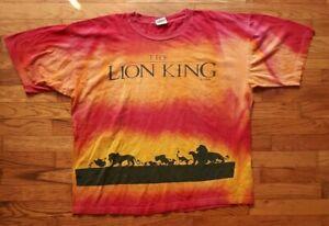 Lion King vintage Disney single stitch 90s tee t shirt tshirt