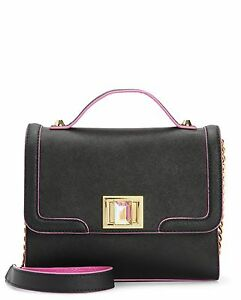 Image is loading JUICY-COUTURE-WILD-THING-LEATHER-FLAP-SMALL-CROSSBODY- 91ef6521cdca1