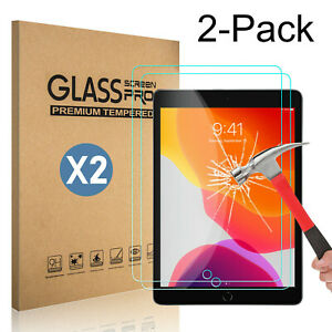 2-Pack-Tempered-Glass-Screen-Protector-Cover-For-iPad-10-2-inch-2019-7th-Gen-HD