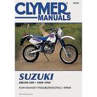 Clymer Repair/service Manual Dr250-350 90-94 Fits 90-93 Suzuki Dr250