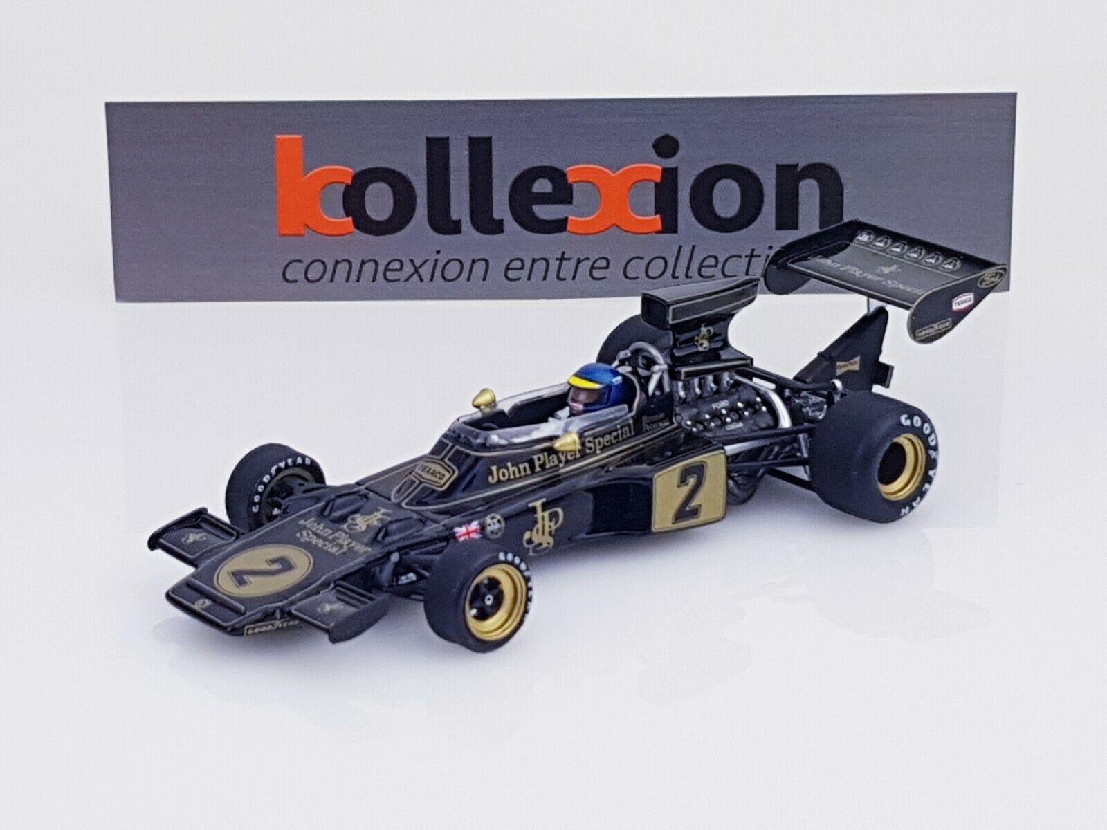 TRUESCALE TSM124325 LOTUS 72E JPS n°2 Winner Italian GP F1  R. Peterson 1.43