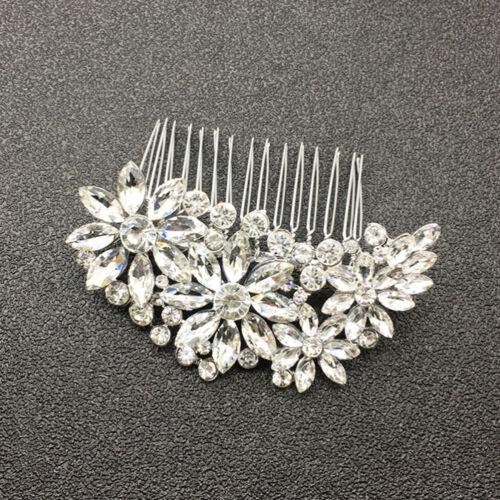 1PC Wedding Hair Accessories Rhinestone Alloy Bridal Headpiece for Party Women