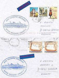 La Fourniture Grec Navire De Croisière Mts Olympique Voyager 2 Navires En Cache Couvre Les Commandes Sont Les Bienvenues.