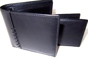 d71e5727e267e Coach F21371 ID 3 In 1 Men s Wallet Baseball Stitch Black Leather ...