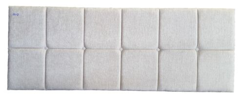 """4FT6 DOUBLE OXFORD LUXURY QUALITY CHENILLE  HEADBOARD 20/"""""""