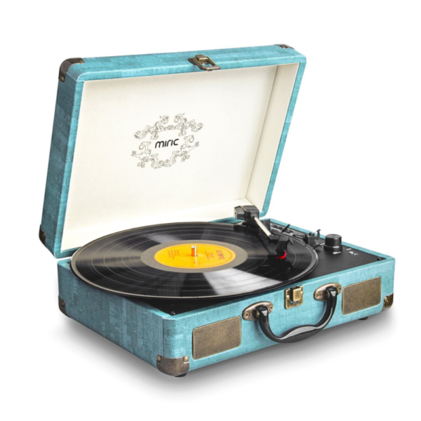 record player miric turntable bluetooth for vinyl records 3 speed with two dual for sale online. Black Bedroom Furniture Sets. Home Design Ideas