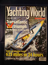 Yachting World - August 2000 - Moody 54 on test