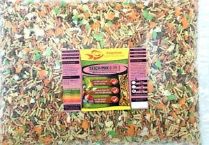 Teich-Mix-6in1-Koi-2-kg-Futter-10-Liter-BEUTEL-Flocken-Pellets-Sticks-Gammarus