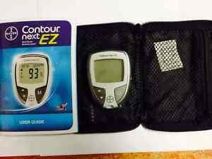 Bayer Contour Next Ez Blood Glucose Meter Plus Carring